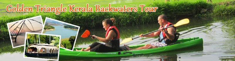 Golden Triangle Kerala Backwater Tour