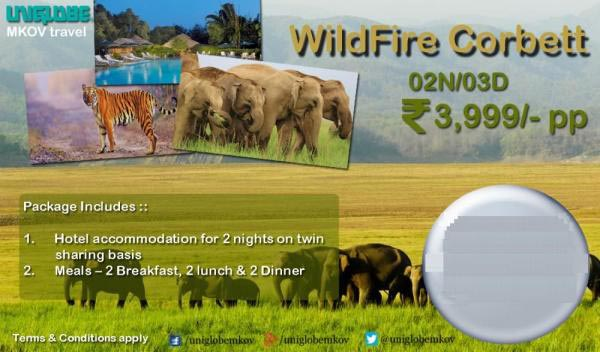 Wild Fire ‎Corbett‬ For 3 Days Tour