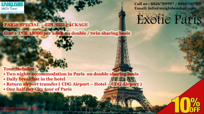 Paris Special Package