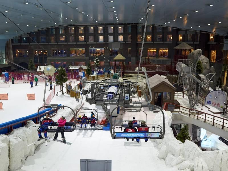 Dubai Package With Ski Dubai And Burj Khalifa