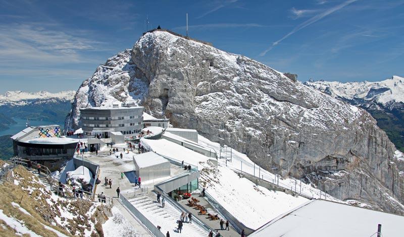 Switzerland Snow - Capped Peaks & Train Tour