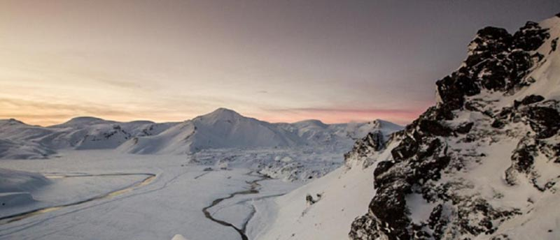 Landmannalaugar Winter 3 Day Tour Package
