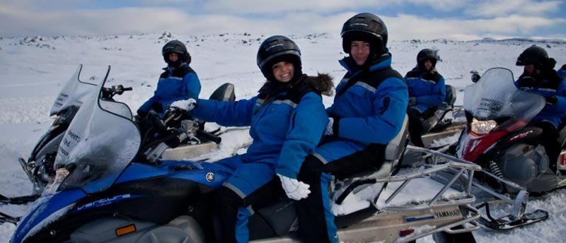 Express Snowmobiling Adventure Package