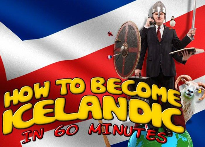 How To Become Icelandic In 60 Minutes Package