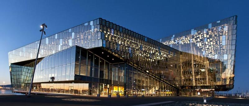 Harpa Concert Hall – Guided Tour Package