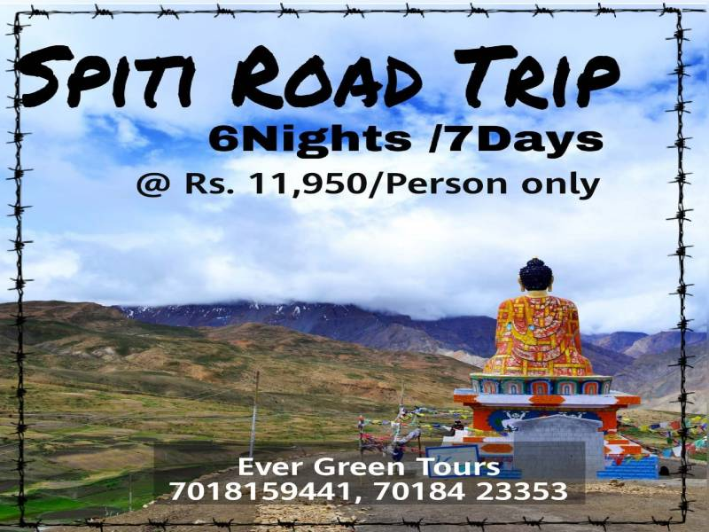 Spiti Valley Trip 7 Days Tour