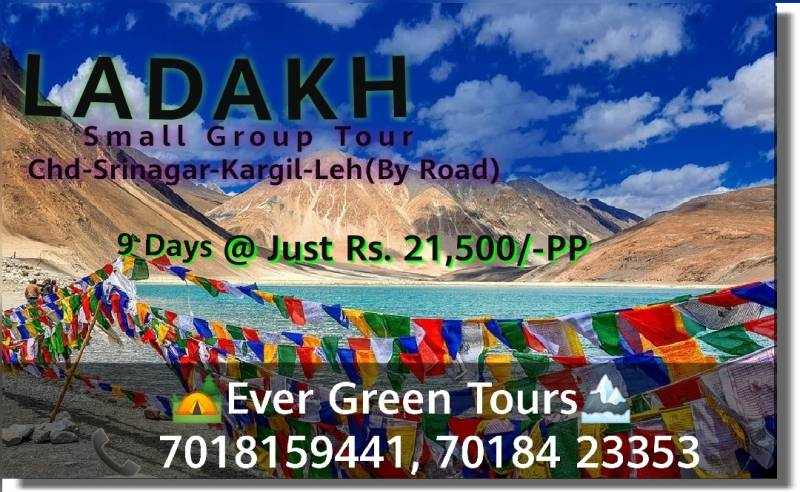 Ladakh Valley 9 Days Trip Tour