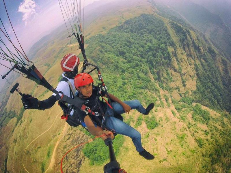Paragliding Kerala Tour
