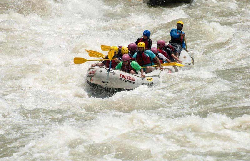 Bungee + Atv + Rafting + Camping Package