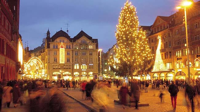 Simply Swiss With 1 Night Basel And Swiss Pass- Xmas Special Package