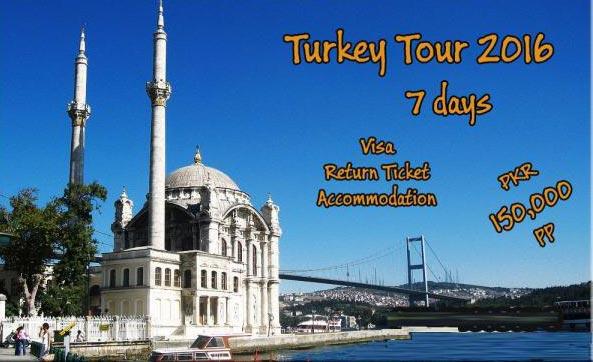 Turkey Tour 2016