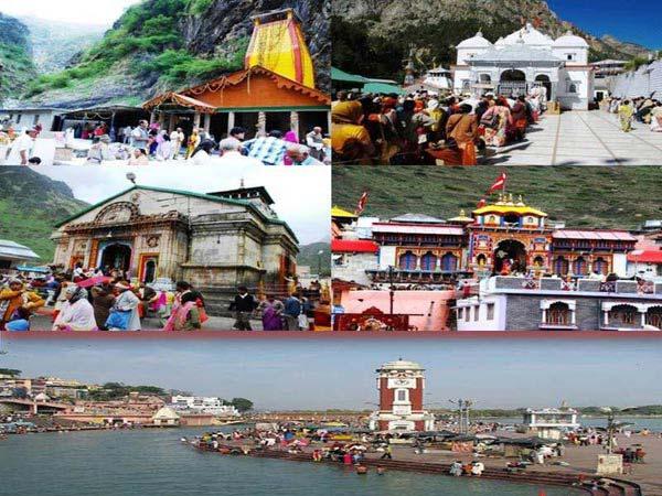 Char Dham Ex.haridwar Package