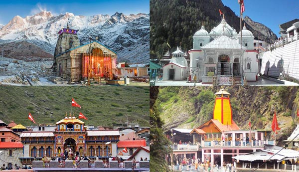 Char Dham Starting From Delhi Package