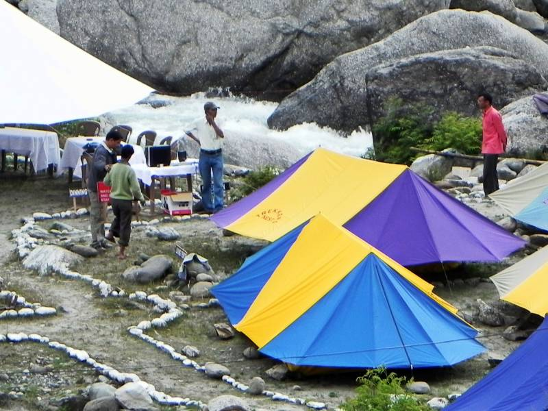 Camping In Barot Valley Tour