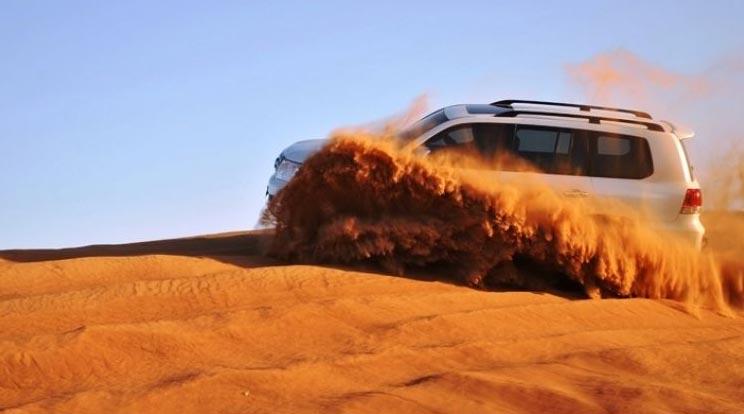 Jeep Safari Tour In Dunes Of Rajasthan