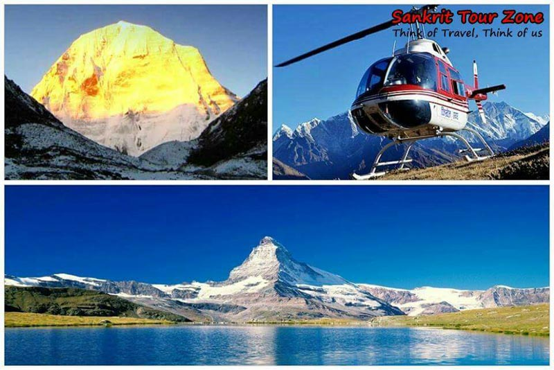 Kailash Mansarovar By Helicopter Tour