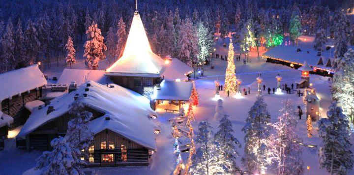 Finland – Helsinki, Santa Claus Town