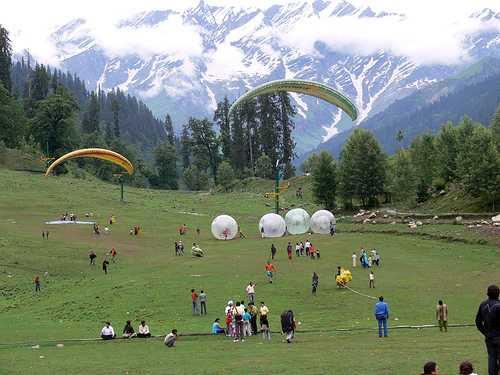 Chandigarh - Dharamsala - Mandi - Manali - Shimla Tour