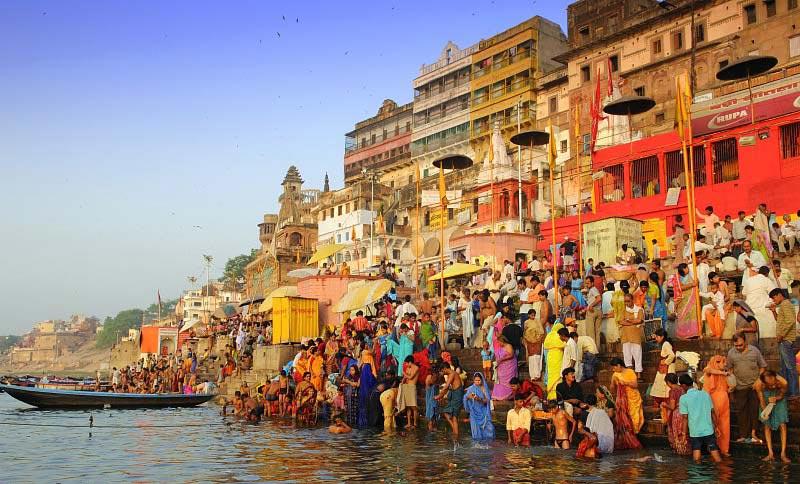 Heritage Temples & Ganges Tour