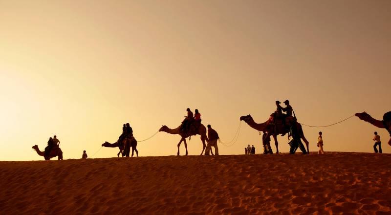 Camel Safari In India Tour Package