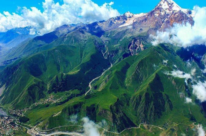 Golden Triangle Route (georgia, Azerbaijan, And Ukraine)