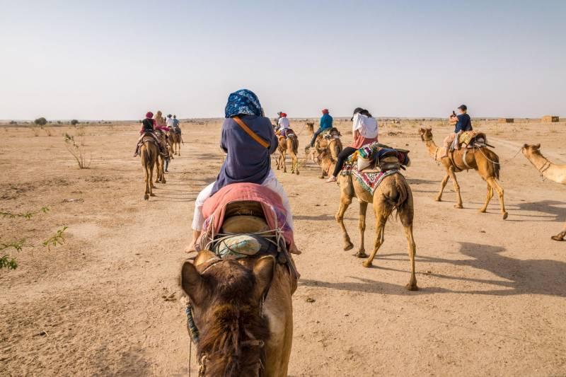 Haveli Stay & Sand Dunes Camp - Rajasthan Tour