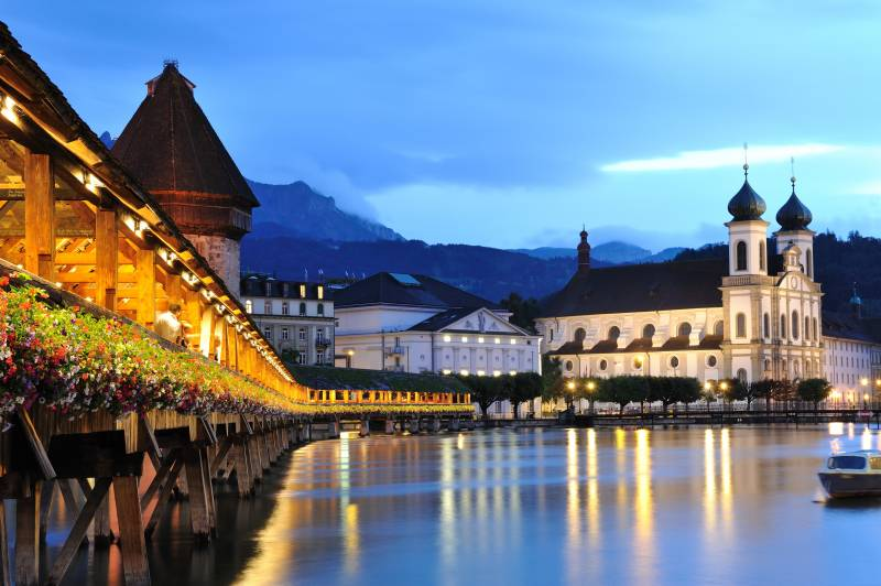 Exotic Swiss & Italy Holiday Tour