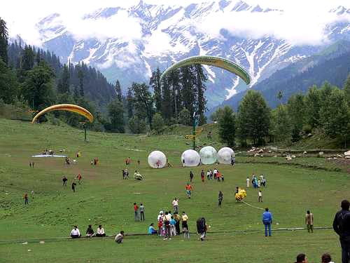 Snow Point Tour By Cab(Manali)