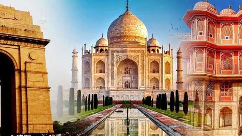 Golden Triangle With Tour Udaipur 6 Night 7 Days