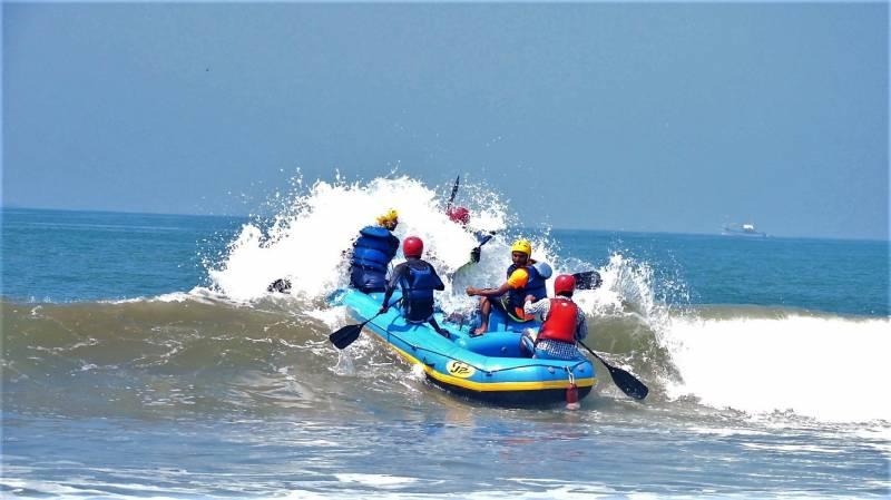 Sea Rafting Goa Tour