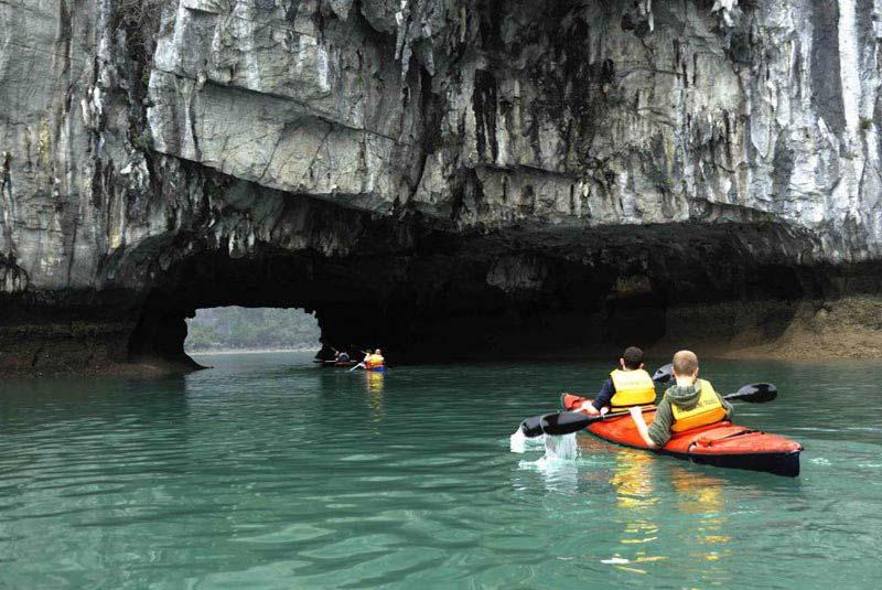 Kayaking Halong Bay, Vietnam Package