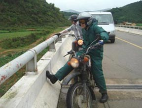 Motorcycle Ho Chi Minh Trail, Hanoi To Hoi An - Half Challenge Package