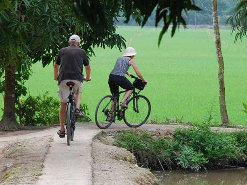 Biking Mekong, Vietnam & Central Highland Package