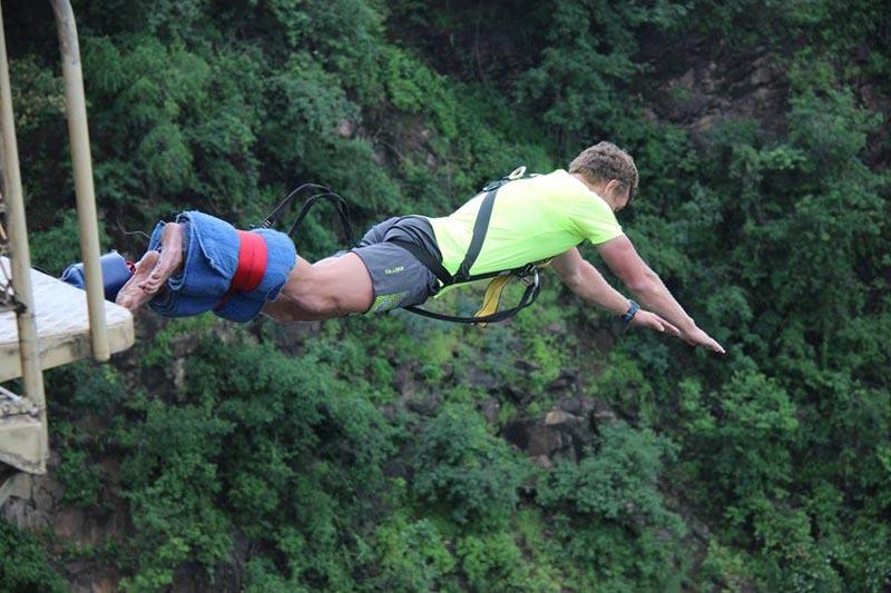 Bunji Jump On The Victoria Falls Bridge