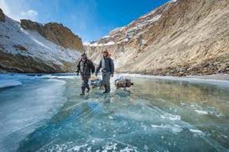 Chadar Frozen River Ice Trek Tour