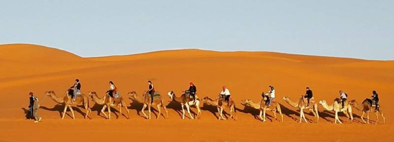 Private 4 Days Fes Tour To Merzouga And Marrakech Tour