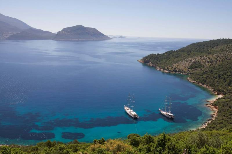 Mediterranean Sea, Kalkan And Fetiye Holiday Package From India