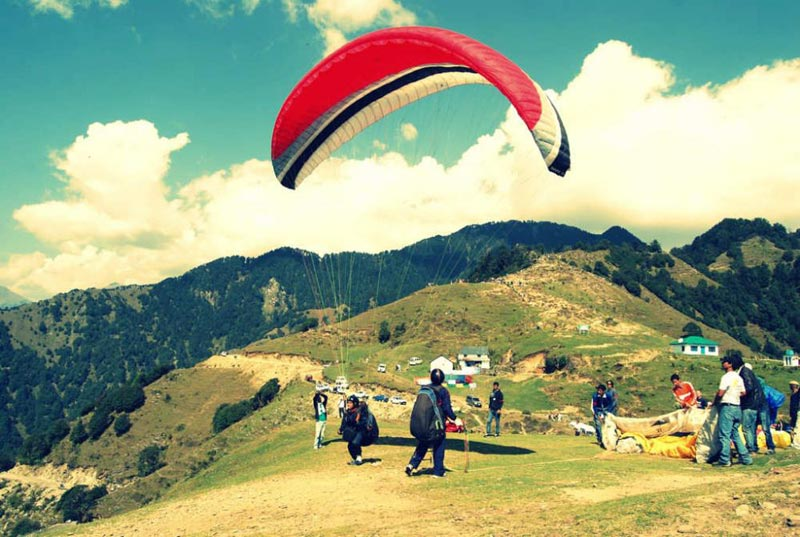Paragliding At Bir Billing And Camping Package