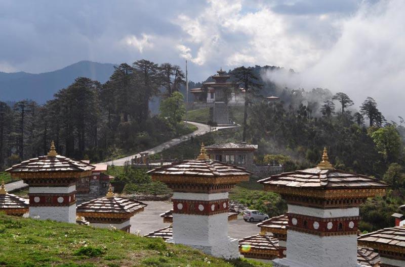 07N08D New Year Package At Bhutan (Via Phuentsholling)