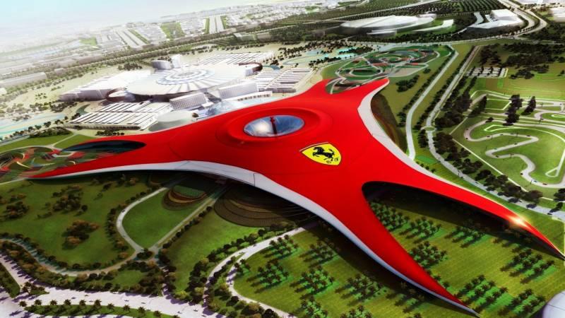 Dubai With Abu Dhabi Ferrari World Tour
