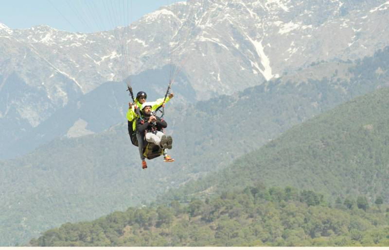 Triund Camping And Paragliding Tour