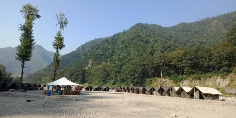 Nature Camp Tour (26 Kms Rafting Trip + Waterfall Hiking Trip)