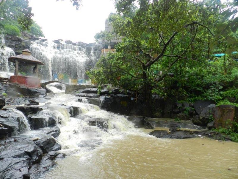 Ghatarani Waterfall Temple