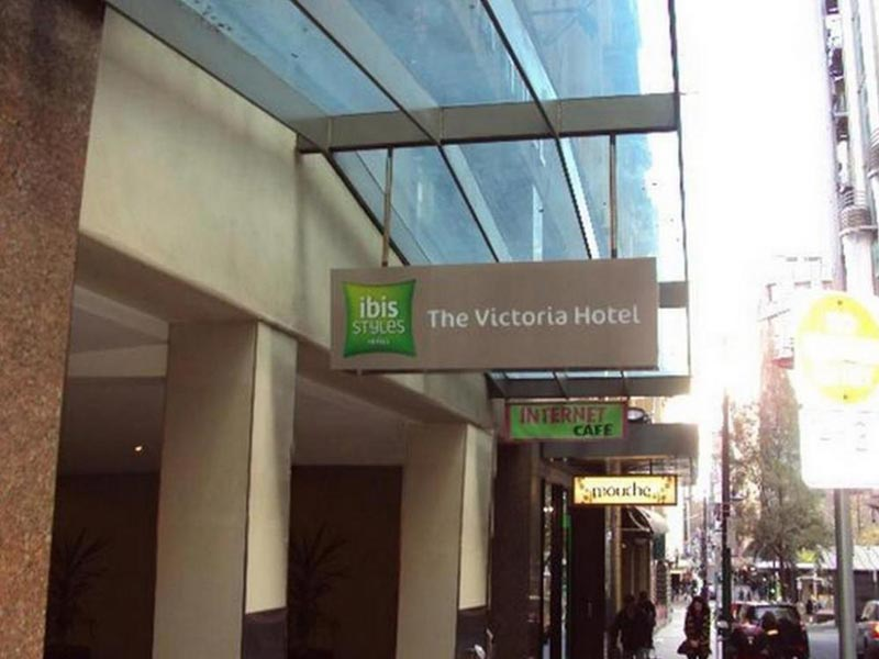 4DAYS 3NIGHT Melbourne Free And Easy AT Ibis Styles Melbourne, The Victoria Hotel