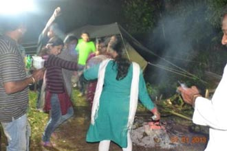 Camp-Fire-In-Tent-Stay-In-Coorg-With-Family Tour