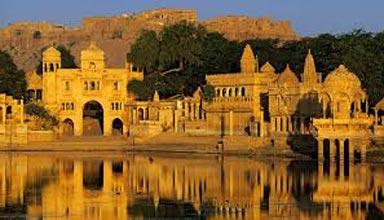 Pushkar (1) – Udaipur (2) - Mount Abu (1) – Jodhpur (1) – Jaisalmer (2) - Bikaner (1) – 8 NI