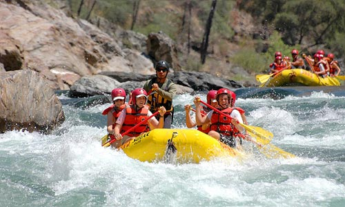 River Rafting And Camping Packages