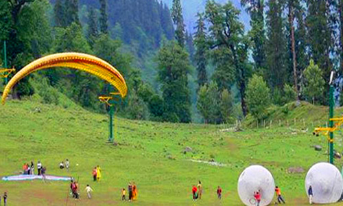 Chandigarh - Manali - Dharamsha Tour Packages