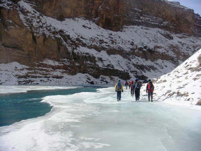 Chadar Trek In Zanskar Tour