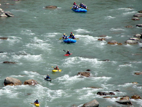 Kayaking In Rishikesh Tour